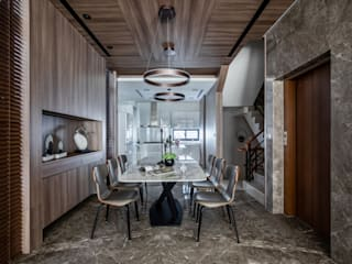 勻境設計 Unispace Designs Modern dining room