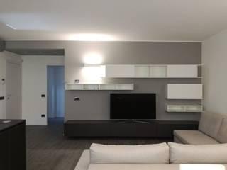Appartamento Limbiate Soggiorno moderno di TREZZI INTERNI SNC DI TREZZI FAUSTO, FRANCESCO E DARIO Moderno