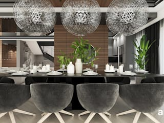 Modern dining room by ARTDESIGN architektura wnętrz Modern