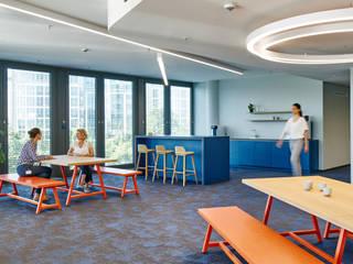 INpuls interior design & architecture Study/office Blue
