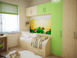 Квартира для молодой семьи от Руденская Дизайн Модерн