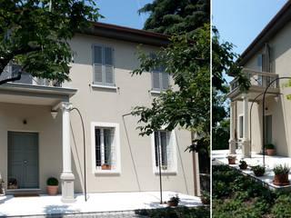 Ristrutturazione e interior design villa in Franciacorta di Studio Maggiore Architettura Eclettico