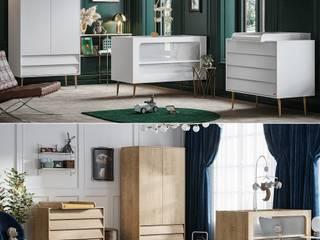 Babyzimmer Kinderzimmer komplett Set Bonny von QMM TraumMoebel Modern