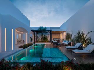 Casa CZ Balcones y terrazas modernos de Álvarez Bernés Arquitectura Moderno