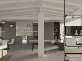 CASA B_2 Luigi Smecca Architetto Cucina moderna
