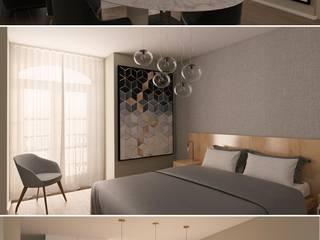 Design Interiores Apartamento Viana do Castelo por MEIKSTUDIO architecture-interior-design Eclético