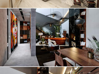 Design de Interiores Moradia em Braga:  industrial por MEIKSTUDIO architecture-interior-design,Industrial