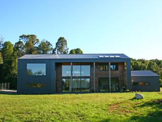 Casa Galpón Casas de estilo minimalista de GAV Minimalista