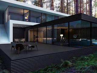 Minimal Villalar CSA mimarlık Minimalist