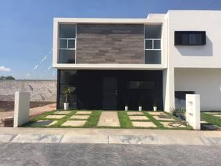 Modelo Cerval Casas minimalistas de Hacienda Santa Fe Minimalista