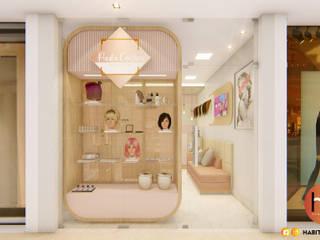 モダンな商業空間 の Habitus Arquitetura モダン