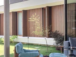 Residência MS Salas de estar modernas por Otta Albernaz Arquitetura Moderno