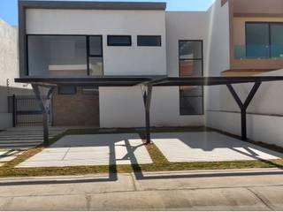 Residencia Tequesquitengo Lynder Constructora e Inmobiliaria Casas unifamiliares Concreto Blanco