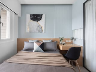 Modern style bedroom by 知域設計 Modern