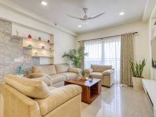 Mapsko casabella, Gurugram HomeLane.com Modern living room