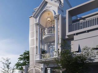 Cải tạo kiến trúc nhà phố nguyễn Phong Sắc bởi Công ty TNHH xây dựng và kiến trúc Homy Việt Nam Kinh điển
