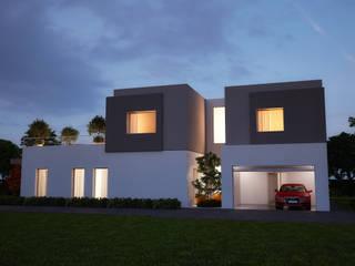Casas estilo moderno: ideas, arquitectura e imágenes de VILLE IN BIOEDILIZIA Moderno
