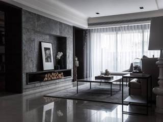 新北D宅 大企國際空間設計有限公司 客廳