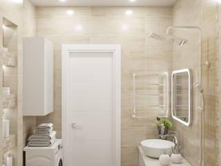 Ванильная ванная Ванная в классическом стиле от Anikina_des_studio Классический