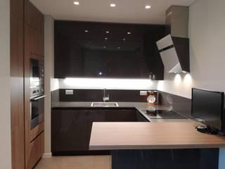 Appartamento Milano TREZZI INTERNI SNC DI TREZZI FAUSTO, FRANCESCO E DARIO Cucina attrezzata