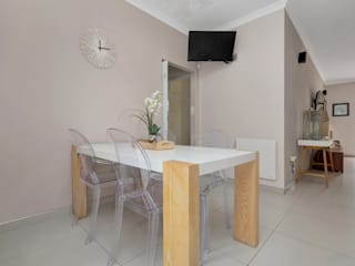 Home Staging - Contemporary Minimalist dining room by Eden Interiors (Pty) Ltd Minimalist