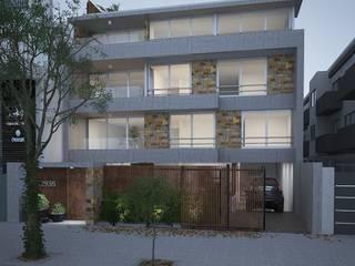 LLACAY arquitectos منازل التراس