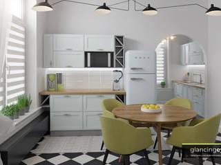 Dapur Gaya Eklektik Oleh Glancing EYE - Asesoramiento y decoración en diseños 3D Eklektik