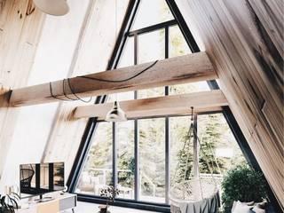 Ahşap evler kanada evleri CSA mimarlık İskandinav