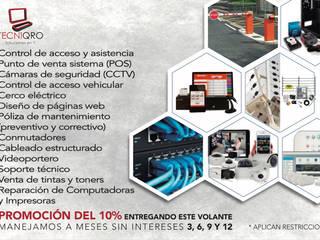 SOLICIONES TECNIQRO Soluciones en IT Pasillos, vestíbulos y escaleras industriales