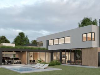 CASA H - Greenville Polo & Resort, Hudson de A'PRIMA - Arquitectura Sustentable Moderno