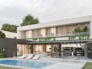 CASA H2 - Sebastian Gaboto, Pueblos del Plata, Hudson de A'PRIMA - Arquitectura Sustentable Moderno