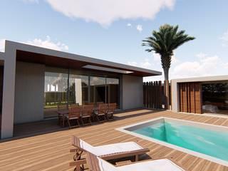 modern  von MJARC - Arquitetos Associados, lda , Modern