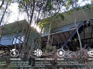 PREFABRICASA 1. Vivienda Modular, Automatizada y Sustentable. PREFABRICASAS Casas ecológicas Metal Negro