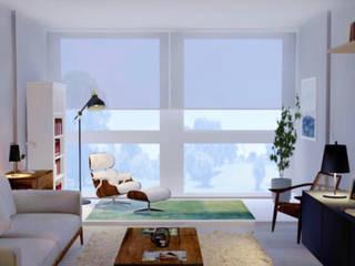 Caparica por CW arquitetura e interiores Mediterrânico