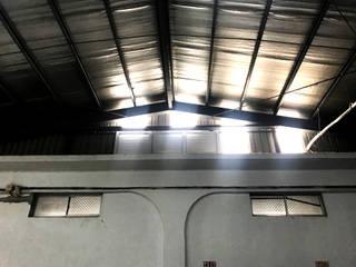 工業廠房:電動百葉.消防排煙窗 《 風扇連動 》 根據 HOYA 電動百葉窗 《 晟弈有限公司 》