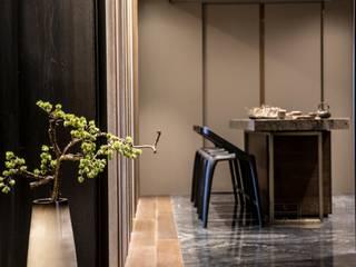 大器聯合室內裝修設計有限公司 Paredes y suelos de estilo moderno