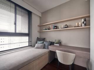 大器聯合室內裝修設計有限公司 Scandinavian style bedroom