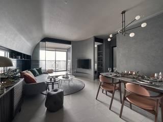大器聯合室內裝修設計有限公司 Salas de estilo escandinavo
