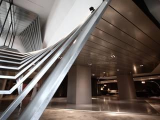 大器聯合室內裝修設計有限公司 Espacios comerciales de estilo industrial