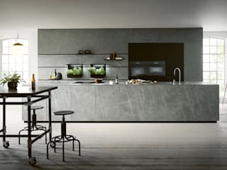 Spitzhüttl Home Company Built-in kitchens Grey
