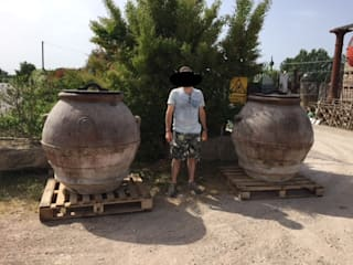 RECUPERANDO BRICK AND STONE Garden Plant pots & vases