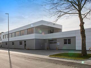 Erweiterung Betriebsgebäude Moderne Bürogebäude von Markus Keßler Architektur Modern