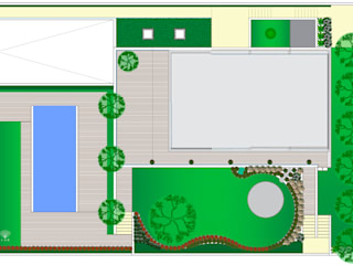 Jardim Privado - Guimarães JAG arquitetura paisagista Jardins mediterrânicos