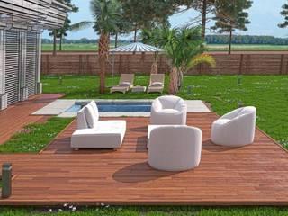 Exterior - Resort Vega FX di Leonardo Papa Piscina in stile in stile classico