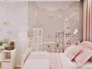 """Проект """"Эклектичный"""" Детские комната в эклектичном стиле от L.E.DESIGNINTERIOR Эклектичный"""