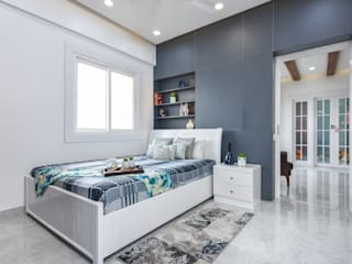 Modern Bedroom by THE LINE STUDIO Modern