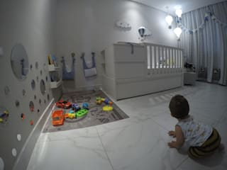 Quarto de bebê por CrieAtive Arqdesign Moderno