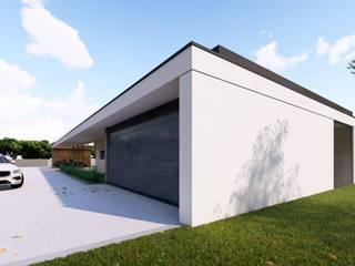 Meia Via House Casas estilo moderno: ideas, arquitectura e imágenes de Miguel Zarcos Palma Moderno