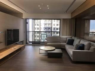 精緻系列 KRONOTEX德國高能得思地板 客廳沙發與扶手椅 複合木地板 Brown