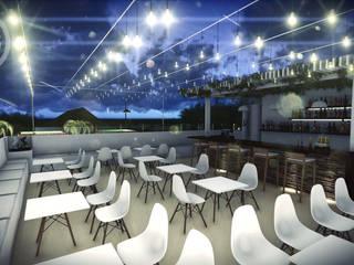 Modern Terrace by 4.19Arquitectos Modern